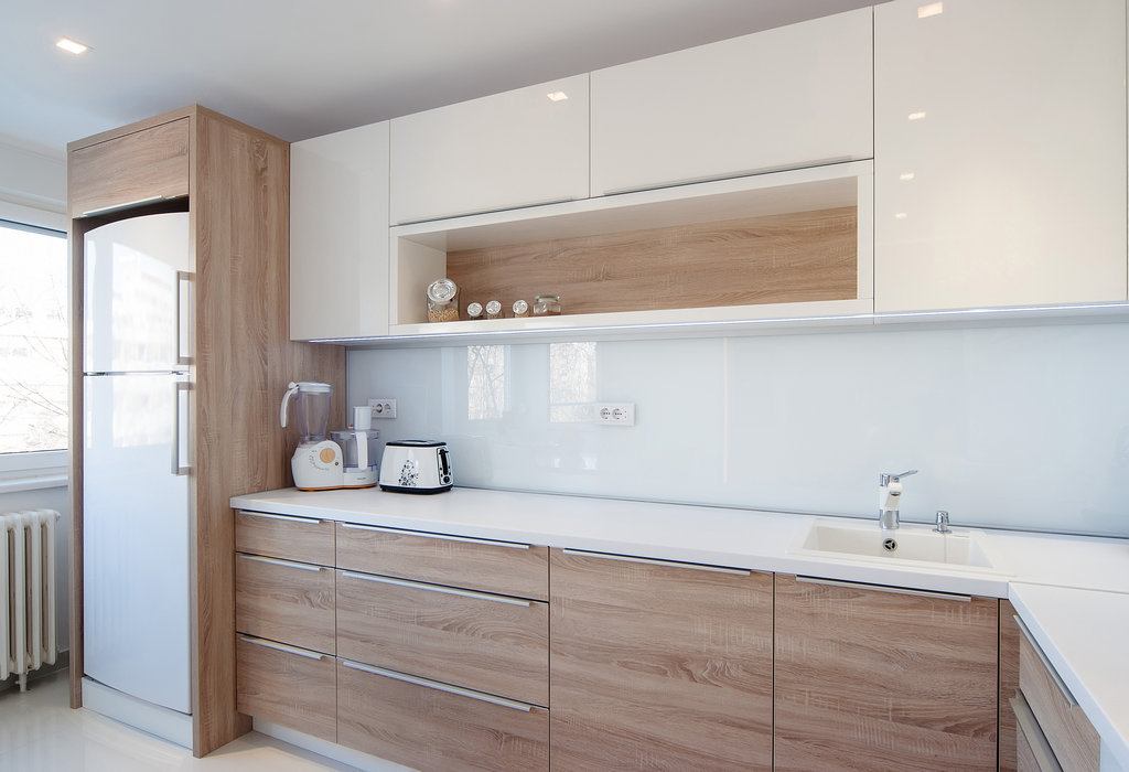White Wood Modern Kitchens And Modern On Pinterest